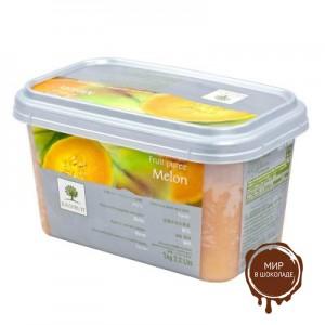 Замороженное пюре Желтая дыня Ravifruit, 1 кг.