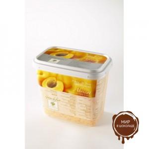 Замороженное пюре гранулированное Абрикос Ravifruit, Франция, 1 кг.