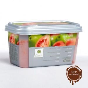 Замороженное пюре Гуава в блоке Ravifruit, 1 кг.