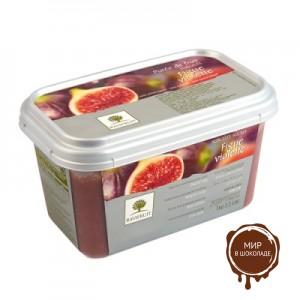 Замороженное пюре Инжир Violette в блоке Ravifruit, 1 кг.