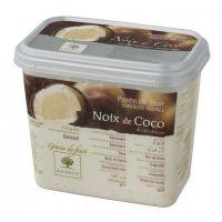Замороженное пюре Кокос, в блоке, Ravifruit, Франция, 1 кг.