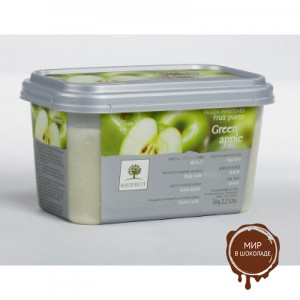 Замороженное пюре Зеленое Яблоко в блоке Ravifruit,1 кг